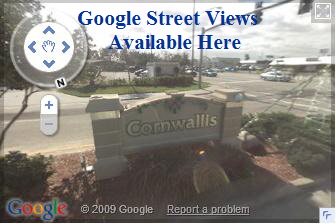 Google Street views of Cornwallis, Cape Coral neighborhood